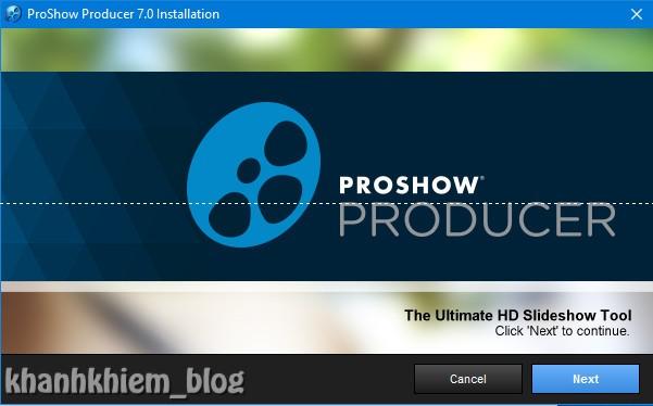 Tải proshow producer - Hướng dẫn cài đặt proshow producer 01