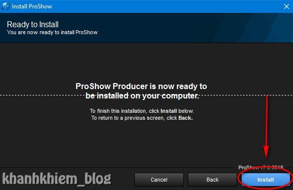 Tải proshow producer - Hướng dẫn cài đặt proshow producer 05