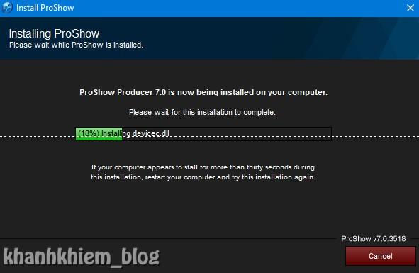 Tải proshow producer - Hướng dẫn cài đặt proshow producer 06