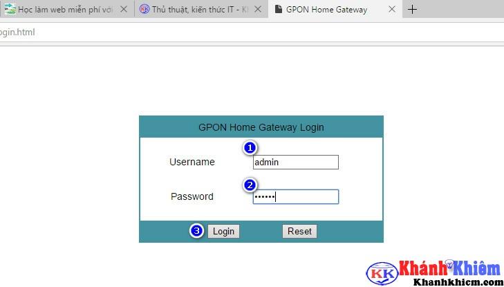 cách đổi mật khẩu wifi fpt 01
