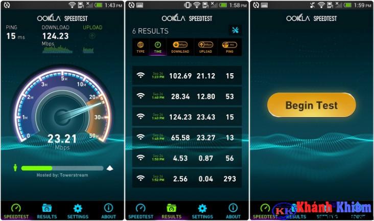 Cách kiểm tra tốc độ mạng Internet trên Speedtest -04