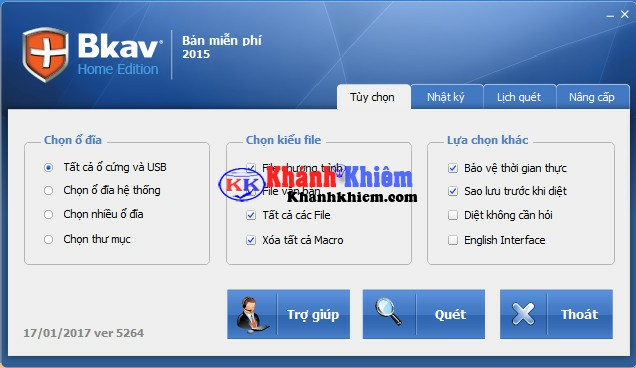Tải Bkav Home - Phần mềm diệt virus miễn phí hiệu quả nhất