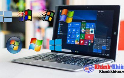 Cùng nhìn lại lịch sử phát triển hệ điều hành windows