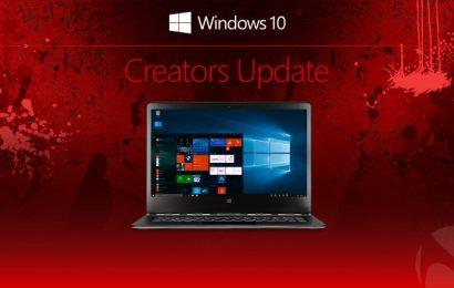 Hướng dẫn nâng cấp nên windows 10 Creators ngay hôm nay
