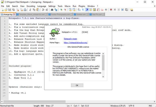 tải notepad++ các tính năng nổi bật của notepad++