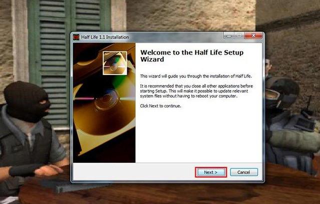 tảihalf life 1.1 bản chuẩn cho máy tính