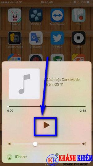 Cách nghe nhạc youtube khi tắt màn hình iphone 02