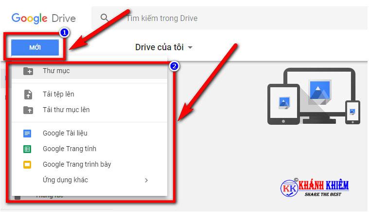 google drive là gì - cách sử dụng google drive 01