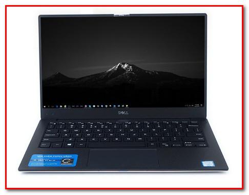 Laptop mỏng nhẹ, tràn viền - Dell XPS