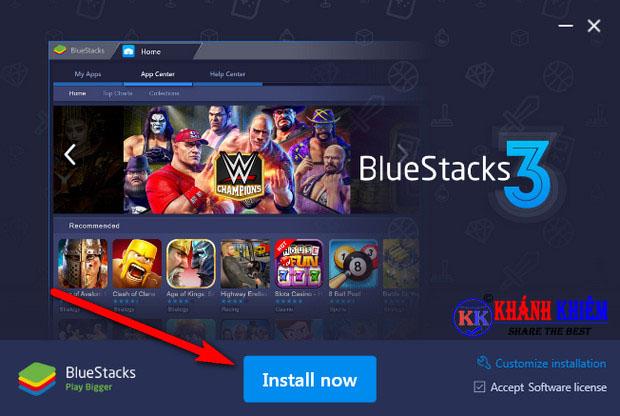 tải BlueStacks mới nhất - phần mềm giả lập android miễn phí 01