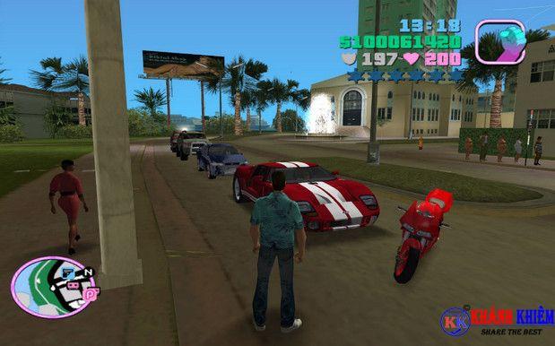 tải GTA vice city - tải cướp đường phố 01