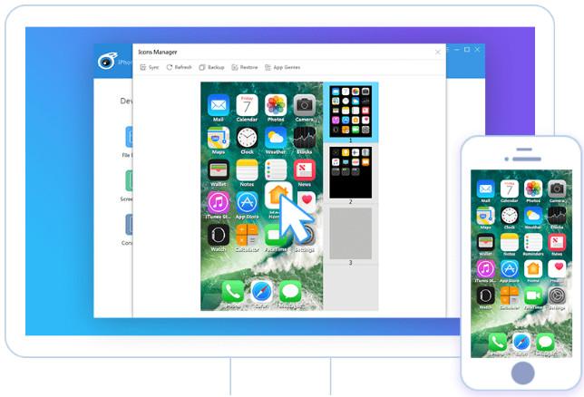 tải itools mới nhất - sắp xếp biểu tượng, ứng dụng trên iphone/ ipad