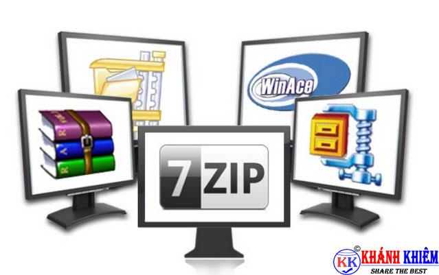 phần mềm giải nén file - phần mềm thông dụng cho máy tính