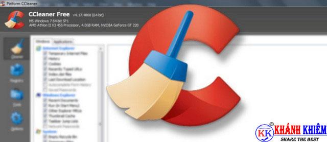 ccleaner - phần mềm dọn dẹp file hệ thống