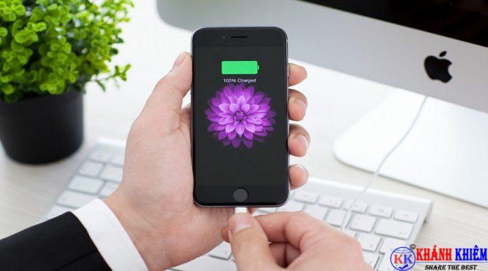 cách kiểm tra độ chai pin iphone