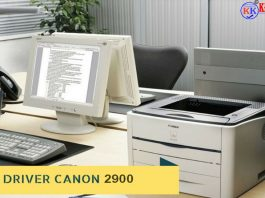 driver máy in canon 2900