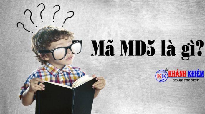 mã md5 là gì