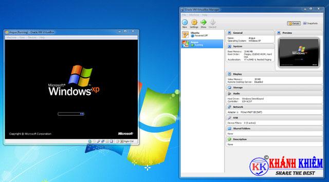 Virtual Box - phần mềm miễn phí thay thế phần mềm bản quyền 03