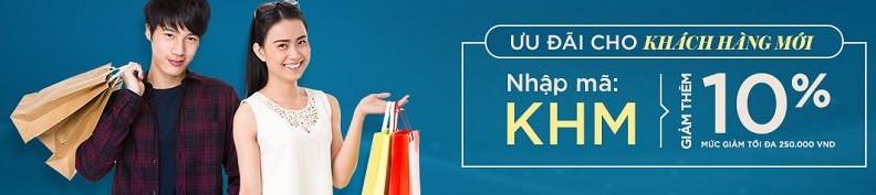 mã giảm giá lazada, voucher lazada ưu đãi cho khách hàng mới