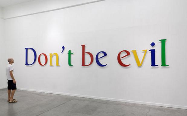 những câu slogan hay của những hãng công nghệ - Don't Be Evil
