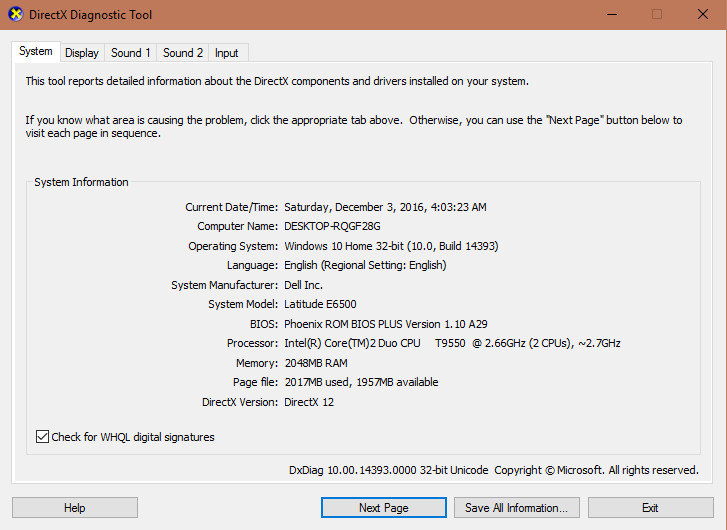 Cách kiểm tra cấu hình máy tính với công cụ mặc định trên windows