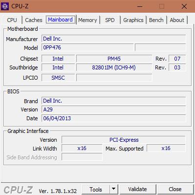 Cách kiểm tra cấu hình máy tính với phần mềm CPU-Z 003