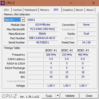 Cách kiểm tra cấu hình máy tính với phần mềm CPU-Z 005