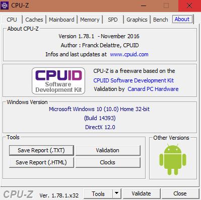 Cách kiểm tra cấu hình máy tính với phần mềm CPU-Z 010