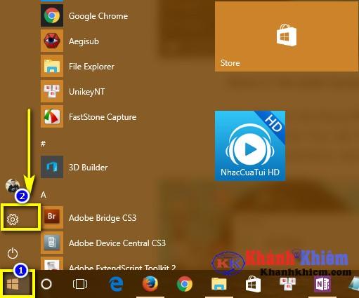 01-Cách thay đổi trình duyệt mặc định trên windows 10