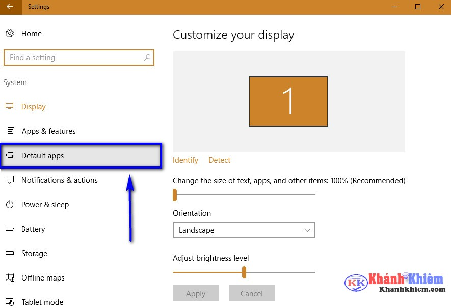 03-Cách thay đổi trình duyệt mặc định trên windows 10