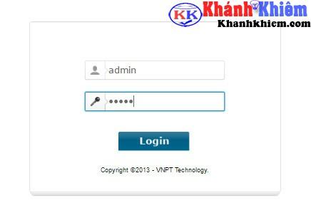 Cách đổi pass wifi mạng vnpt