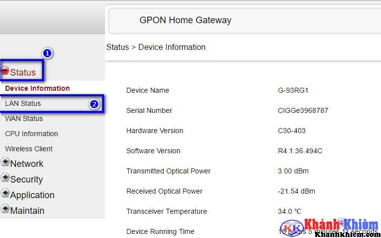 chặn địa chỉ mac trên modem fpt