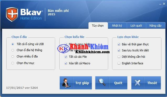 Bkav Home - Phần mềm diệt virus miễn phí tốt nhất