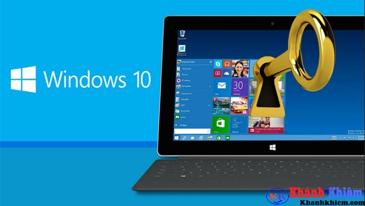 thiết lập mã pin trên windows 10