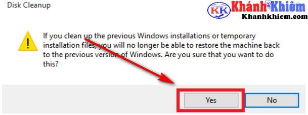 Cách xóa thư mục windows.old 11
