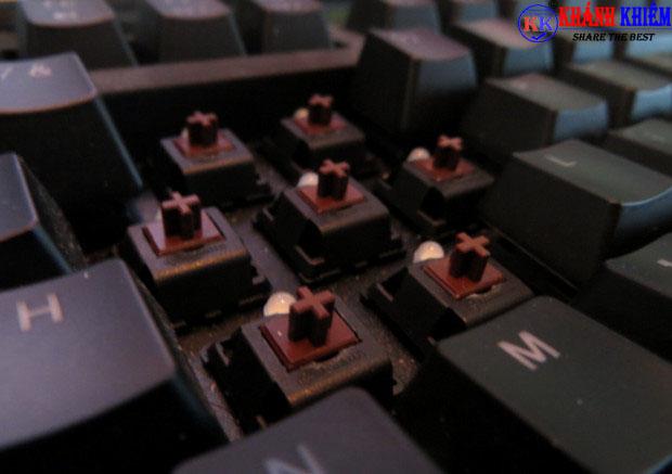 bàn phím cơ là gì - Brown Switch