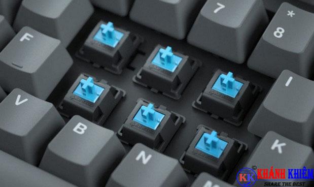 bàn phím cơ là gì - blue switch