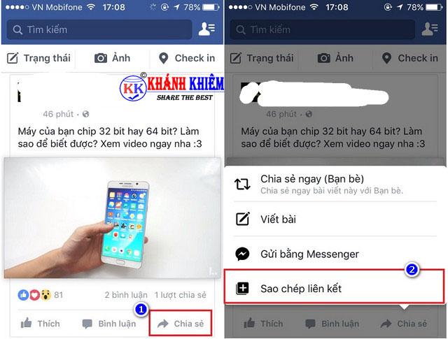 Cách tải video trên facebook về iphone/ ipad 01