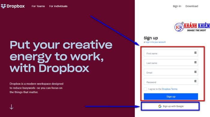 Dropbox là gì - cách đăng ký Dropbox cho máy tính