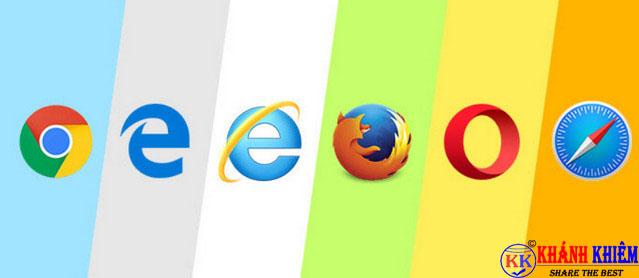 trình duyệt web - phần mềm thông dụng