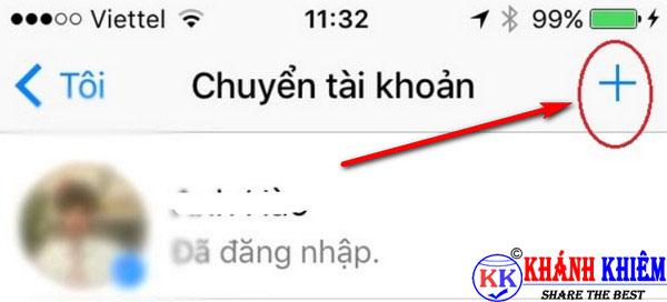 cách đăng xuất Messenger trên iphone để chuyển tài khoản 04