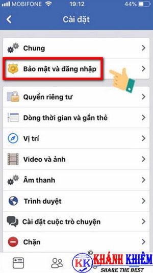 cách đăng xuất Messenger trên iphone để chuyển tài khoản 07