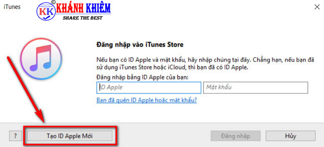 cách tạo id apple trên máy tính 07