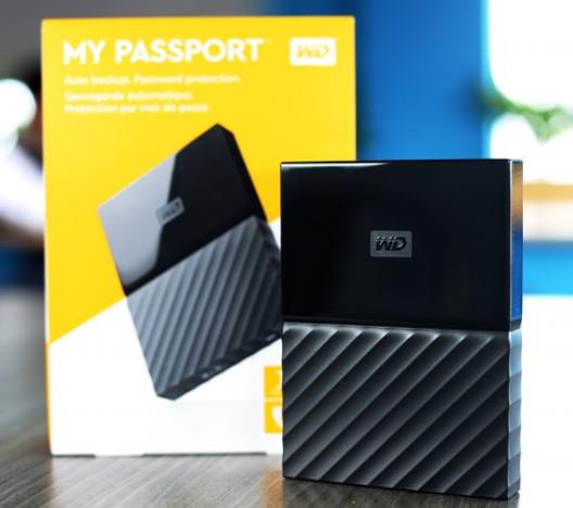 ổ cứng di động loại nào tốt - Ổ Cứng Di Động WD My Passport Ultra