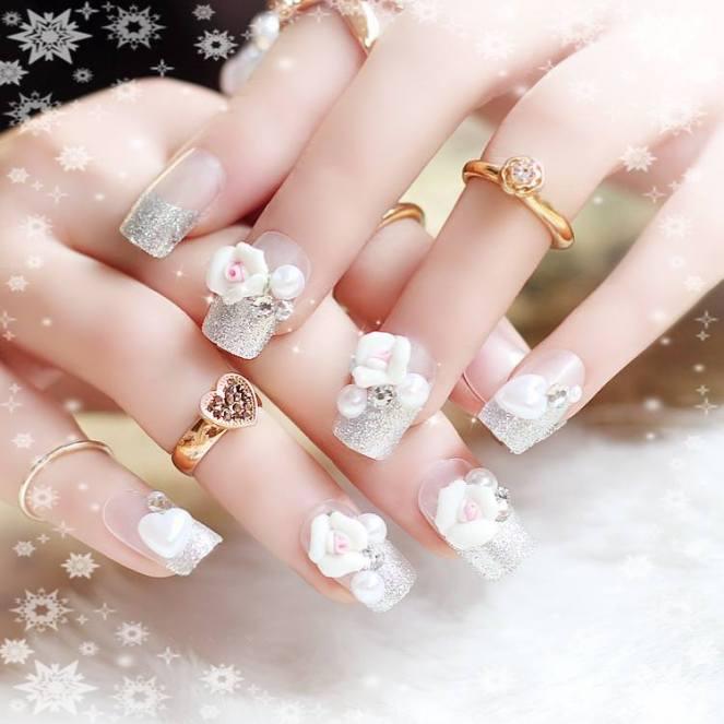 mẫu nail đẹp cho người yêu 004