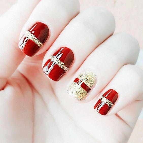 mẫu nail đẹp cho người yêu 012