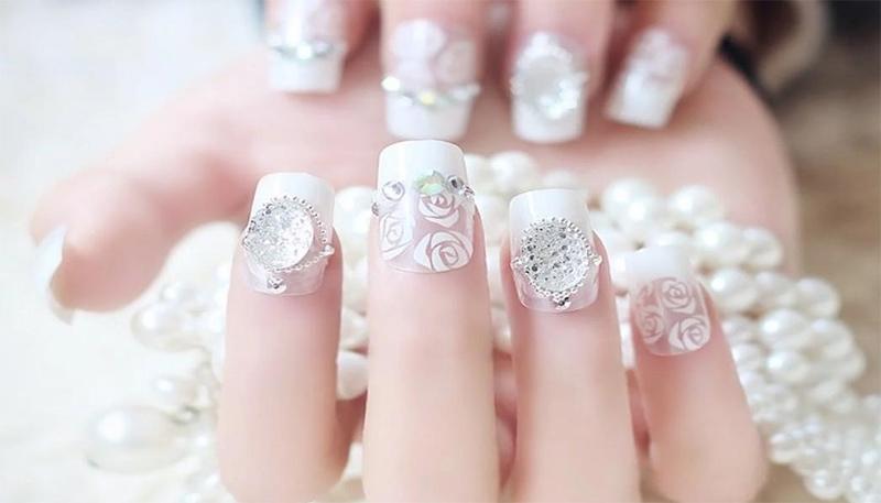 mẫu nail đẹp cho người yêu 016