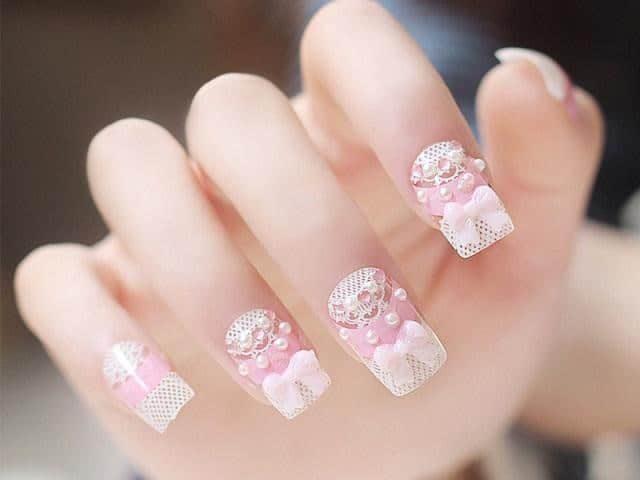 mẫu nail đẹp cho người yêu 017