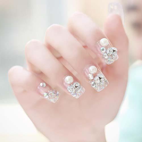 mẫu nail đẹp cho người yêu 019
